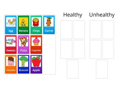 Food sorting games