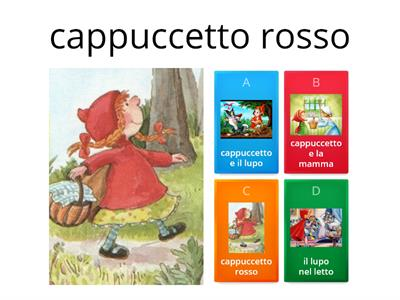 Copia di sequenze cappuccetto rosso