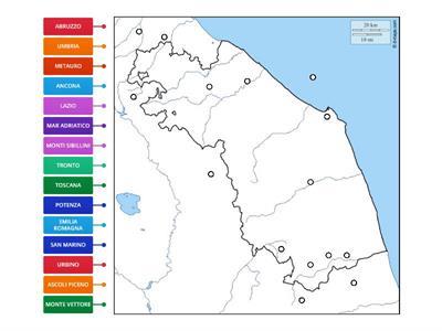 Marche Cartina Muta.Regione Marche Risorse Per L Insegnamento