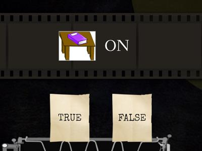 PREPOSITIONS: true or false?