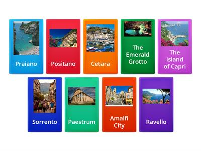 The Amalfi Coast, Top 9