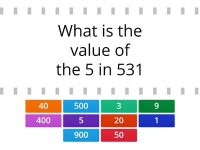 Copy of  Place Value