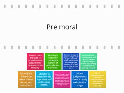 Moral development stages
