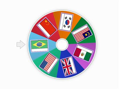 Wheel of Flags