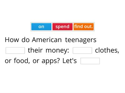 Teens and their money