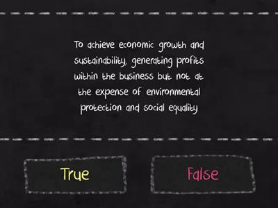 Ethics- Sustainability- AAT