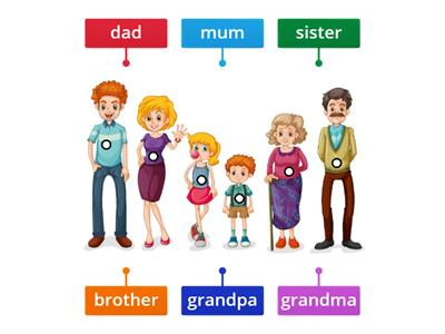 Family - vocabulary