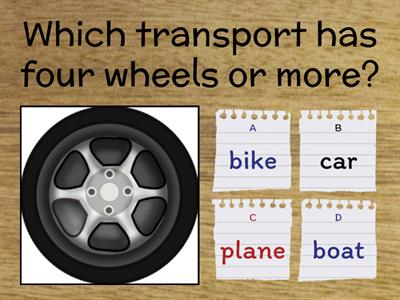 Which transport?