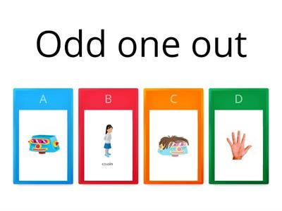 Odd one out Review 8-10