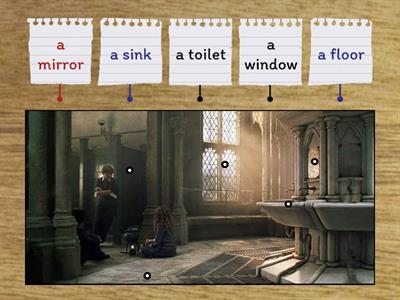 Rooms&Furniture with Harry Potter (Bathroom)