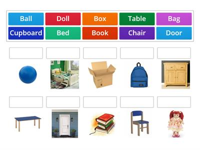 2nd - At home vocabulary