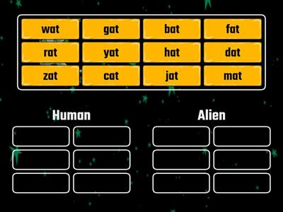 -er and -est for blends Word Sort