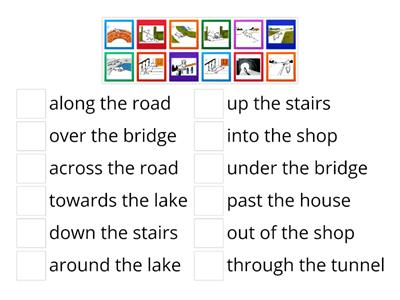 1. Prepositions of movement
