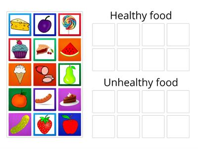 The very hungry caterpillar healthy&unhealthy