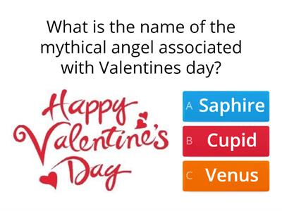 Copy of Valentines quiz