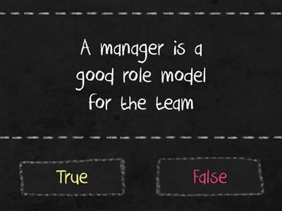 Manager or Leader