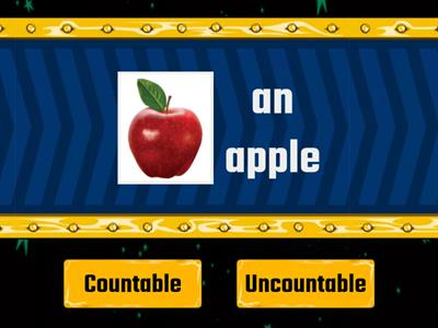 Countable or uncountable ?