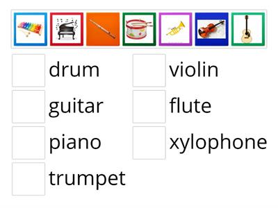 Musical instruments IE2