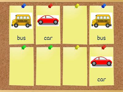 memory game transport