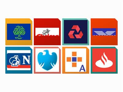 Managing money- Bank or Building Society Logo game