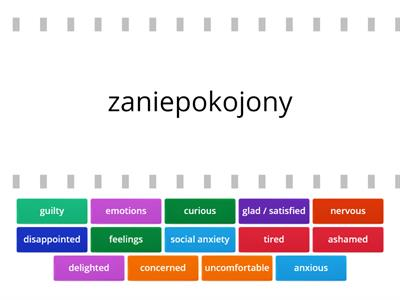 Unit 1 - Feelings and emotions - Repetytorium Ósmoklasisty część 1