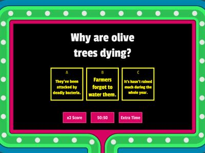 Europe steps up fight to stop deadly olive tree disease - listening