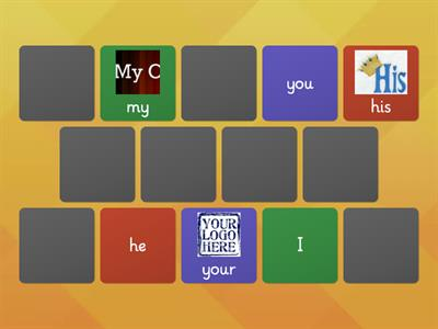 Spotlight 3 possessive pronouns