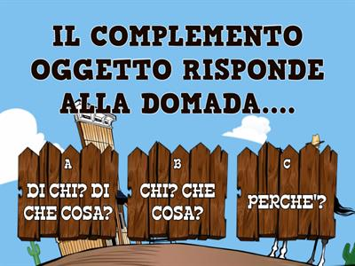 I COMPLEMENTI