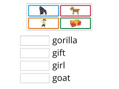 Oxford Phonics Letter G