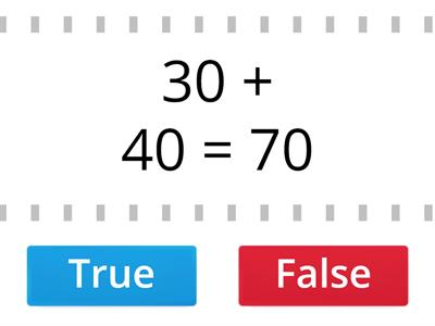 Addition - true or false?
