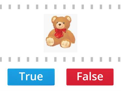 True or False letter T