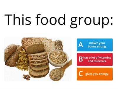 Food Groups and Health