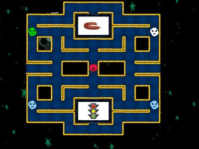 Pacman dos sons /s/, /x/, /j/, /z/