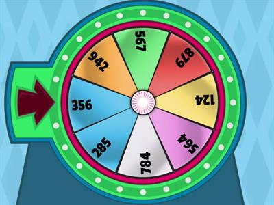 Multiplication Spinner
