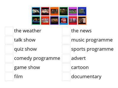 What's on TV? TV programmes