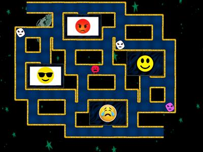 emoji chase game