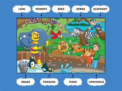 KIDS STARTER - Unit 4 - Vocabulary: animals