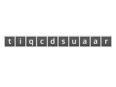 Quadratic Anagram