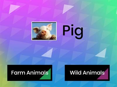 Animals...Farm animals or Wild ones?