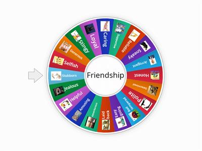 Unit 1-Friendship Adjectives