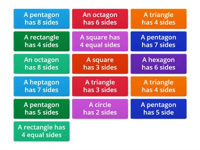 sides of shapes true or false