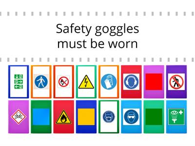 Health and safety symbols and signs