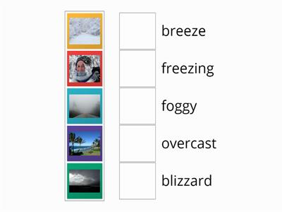 weather descriptions