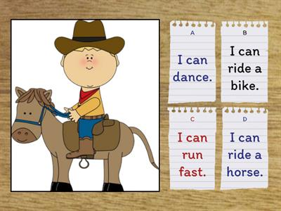 4.3. Cartoon Characters - Verbs