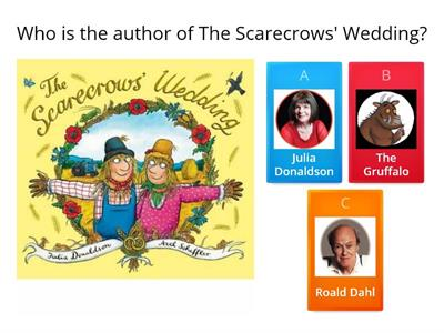The Scarecrows` Wedding quiz