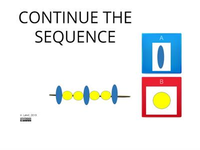 SEQUENCE and NUMBER 7 -  exercise