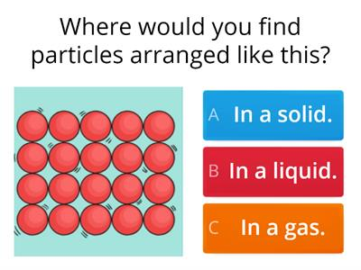 Copy of Particles quiz Year 4