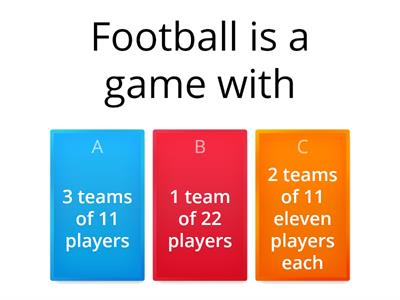 Zoom -  Quiz on Football/Soccer