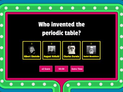 The Periodic Table Quiz