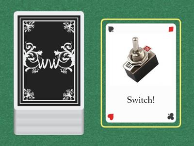 Fluency Phrases- Switch Game